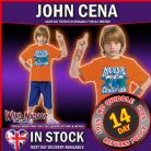 Fancy Dress Costume ~  Boys WWE Wrestling John Cena Medium Age 5-7